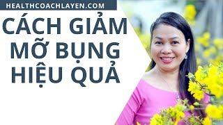 Cách Giảm mỡ bụng hiệu quả cùng Health Coach La Yến
