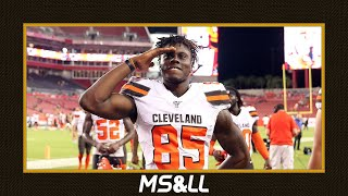 David Njoku Commits to the Browns, Are They Committed to Him? - MS&LL 8/3/20