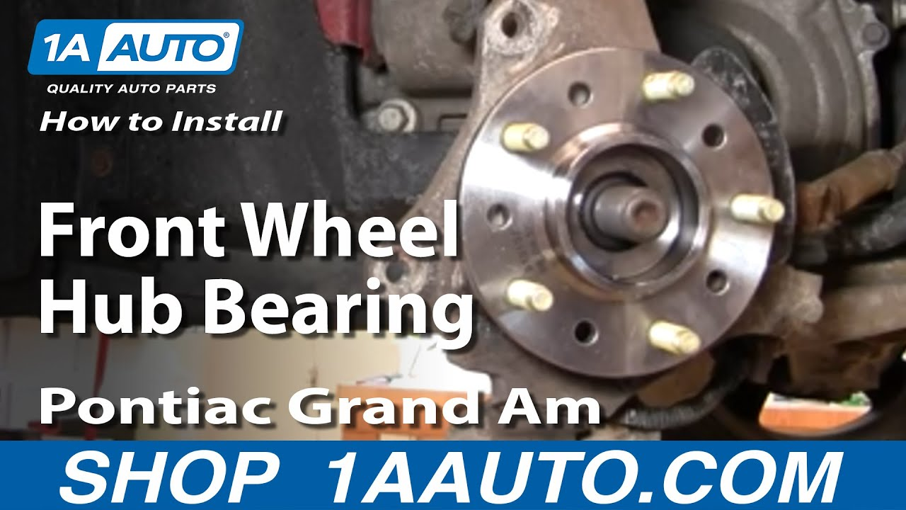 How To Install Replace Front Wheel Hub Bearing GM Front ...