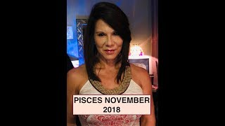 Pisces November 2018 Reading! Jupiter in 10 House!  Fire Desire Career success !
