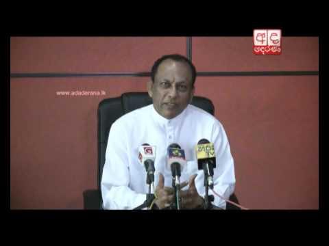 """""""Sirisena - Rajapaksa Meeting Actually Took Place"""" - Lakshman Yapa Abeywardena [Video]"""