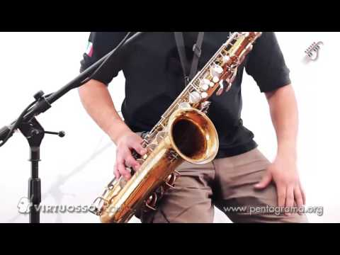 Como tocar saxofón