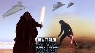 The Rise Of Skywalker New Trailer! Shocking News Revealed (Star Wars Episode 9 Trailer 3)