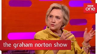 Hillary Clinton talks about Trump's use of Twitter - The Graham Norton Show: 2017 - BBC One