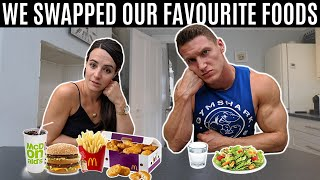 I swapped favourite foods with my wife for 24 hours...