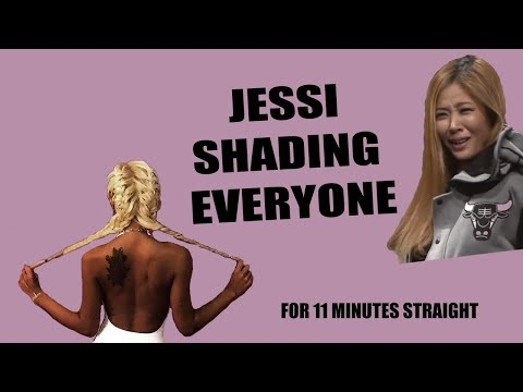 Jessi baddest/shadiest moments (unpretty rapstar edition)