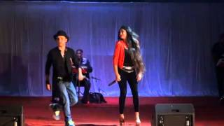 1234 Get on the dance floor-Chennai Express-Remo Ghosh(Indian Idol) Live at a College Event