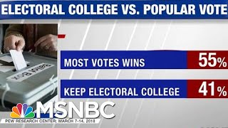 Majority Of Americans Support Getting Rid Of The Electoral College | Hardball | MSNBC