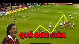 Ronaldinho đã làm gỏi các siêu sao bóng đá khác như thế nào ?