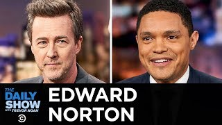 """Edward Norton - A Noir Look at New York City in """"Motherless Brooklyn""""   The Daily Show"""