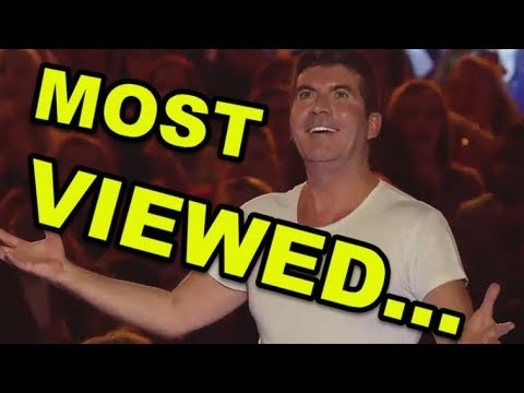 Top 10 *MOST VIEWED AUDITIONS EVER* ON AMERICAS GOT TALENT!