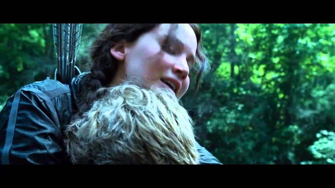 The Hunger Games | Katniss and Peeta | Young Love | Kiss ... | 1280 x 720 jpeg 94kB