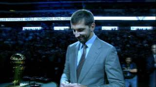 The Mavericks Get Their Championship Rings