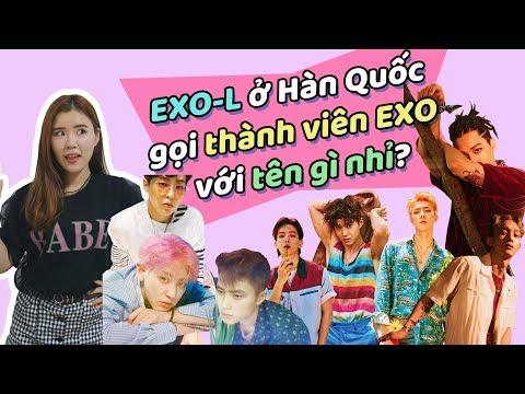 EXO-L ở Hàn Quốc gọi thành viên EXO với tên gì nhỉ?ㅣHọc tiếng Hàn từ EXO!