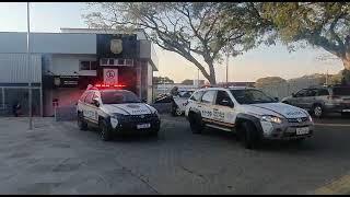 Brigada Militar prende quatro indivíduos com armas e drogas que estão ligados a homicídio, em Guaíba