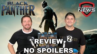 Marvel Studios' Black Panther Review - No Spoilers