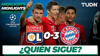 Highlights | Lyon 0-3 Bayern | Champions League 2020 - Semifinal | TUDN