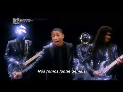 Baixar Daft Punk ft. Pharrell Williams - Get Lucky [Legendado / Tradução] (Official MTV Video)