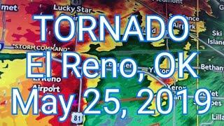 TORNADO Struck the city of El Reno, Oklahoma at NIGHT!