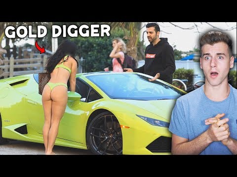 Gold Digger Girlfriend Loves The Lambo (Exposed)