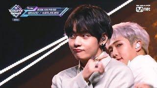 190425 Mnet 엠카운트다운 BTS 방탄소년단 - Boy With Luv 작은 것들을 위한 시 +보정