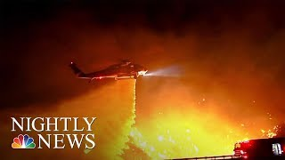 Trump Threatens To Pull Federal Aid For Devastating California Wildfires | NBC Nightly News