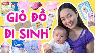 Cách chuẩn bị giỏ đồ đi sinh em bé của Mẹ Ori | Ori Family VLOG 19