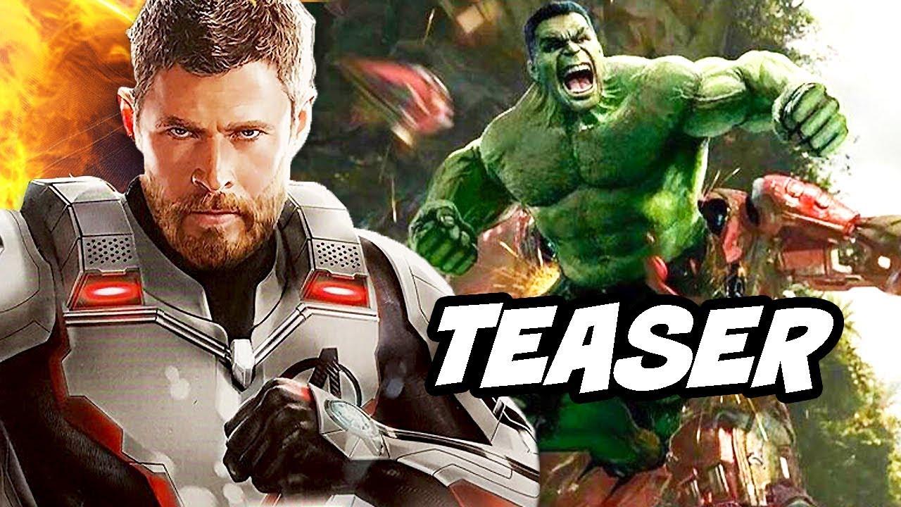 Avengers Endgame Teaser - Cameos and New Avengers Costumes Breakdown