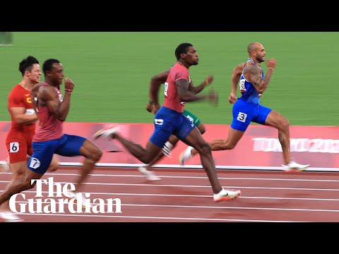 Marcell Jacobs crowned men's 100m champion: 'Childhood dream come true'