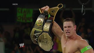 John Cena wins the vacant WWE Championship: Money in the Bank 2014