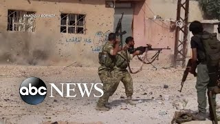 Turkish forces continue attack in Syria l ABC News