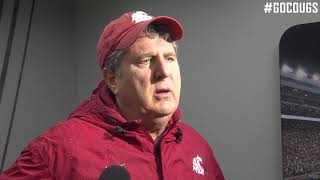 Mike Leach after practice 4/10