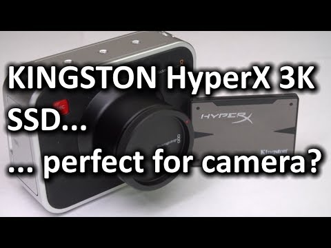Blackmagic Cinema Camera & Kingston HyperX 3K SSD - Smashpipe Tech
