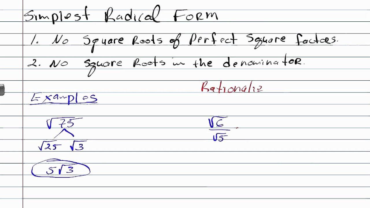 Radical Equation Calculator