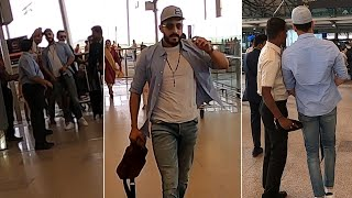 Akkineni Akhil Craze@ Airport- Exclusive Video..