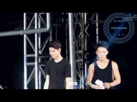 iKON show their love to 2NE1 Part 1