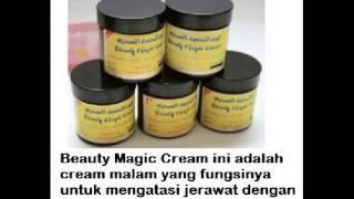 Obat Herbal Jerawat Beauty Magic Cream 50gr- Asli Dari Mekah
