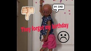 They forgot my birthday - Adalia Rose Funny Skit