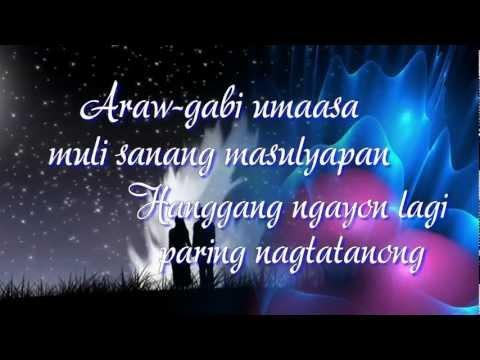 Sana Ngayon Lang Ang Kahapon - Angeline Quinto (Lyrics)