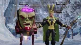 Disney infinity 2.0 marvel super heroes :  bande-annonce