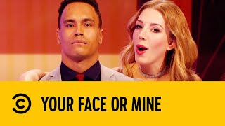 Katherine Gets Flirty With The Line Up | Your Face Or Mine
