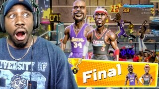 FINAL BOSS RAGE QUIT vs IVERSON & SHAQ! MORE LEGENDS IN PACKS! NBA Playgrounds Gameplay Ep. 2