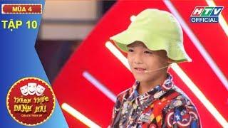 HTV THÁCH THỨC DANH HÀI 4|Cô gái mượn sóng truyền hình tỏ tình Trường Giang|TTDH #10 FULL|24/1/2018