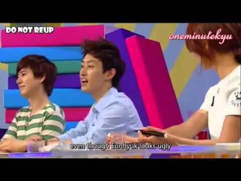 ENGSUB Eunhyuk talks about Lee Soo Man and imitates him