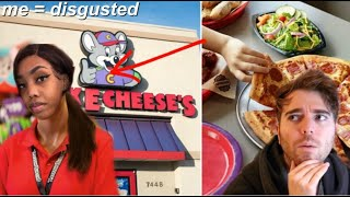 i got a job at CHUCK E. CHEESE to see if SHANE DAWSON was right.. and he was