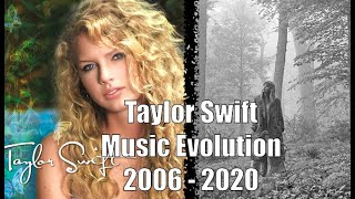 Taylor Swift - The Music Evolution (2006 - 2020)