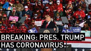 President Trump Has The Coronavirus | NBC News Special Report | NBCLA