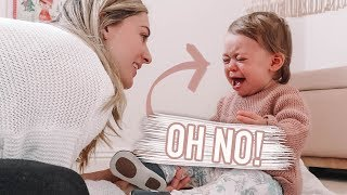 24 HOURS WITH A ONE YEAR OLD!!!