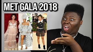 THE BEST & WORST MET GALA LOOKS OF 2018 (who said this was ok?)