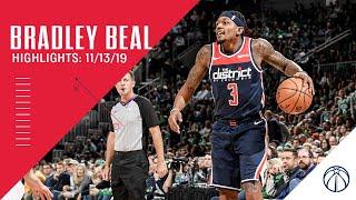 Highlights: Bradley Beal vs. Celtics - 11/13/19